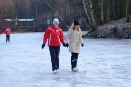 Bruslení - zima 2009