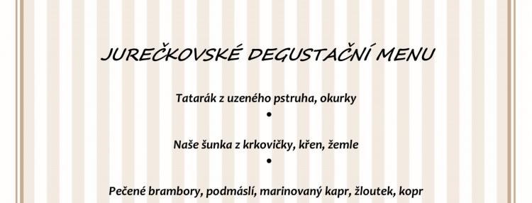 Degustační menu - Jiří Dvořák