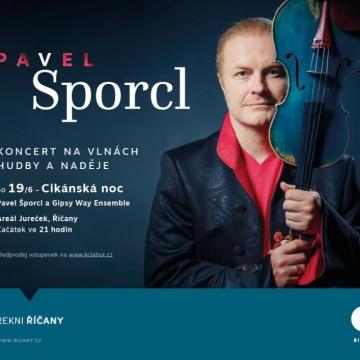 Koncert na vlnách hudby a naděje - Pavel Šporcl a hosté podruhé